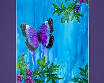 Butterfly Among the Blues