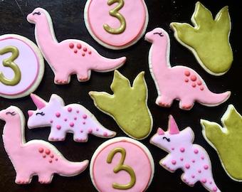 Boho Dino Birthday Set
