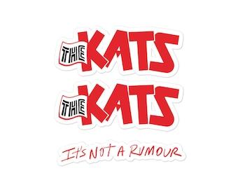 The Kats Logo + Rumour Sticker Set