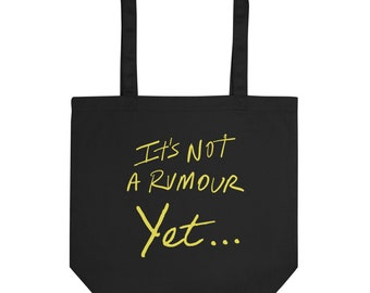 It's Not a Rumour Book Eco Tote Bag