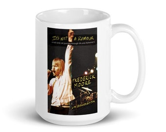 It's Not a Rumour Book Cover Mug