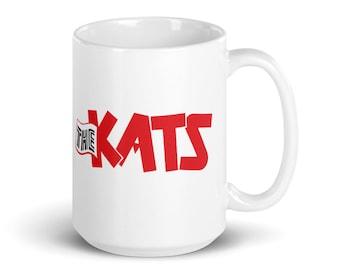 The Kats White glossy mug