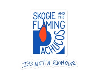 Skogie and the Flaming Pachucos Logo + Rumour stickers