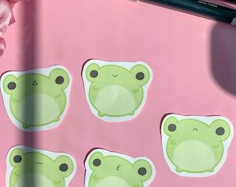 Frogs Bundle, Cute Bundle, Sticker, Cute Stickers, Aesthetic Stickers, Animal Stickers