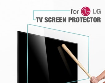 TV Screen Protector for LG TVs. Special Dimensions for All Models. Damage Protection and Waterproof.