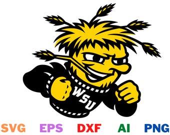 Wichita State Shockers Digital Download (svg/png/dxf/eps/ai)