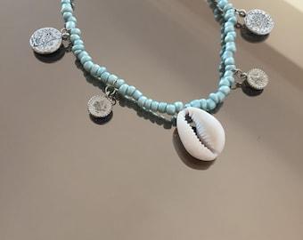 Handmade SeaShell Anklet
