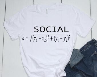 Social Distance formula SVG/ Digital Download/ Mask/ Math puns