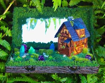 Fantasy Landscape Diorama