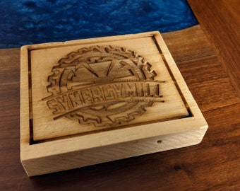 Synergy Mill Drink Coaster
