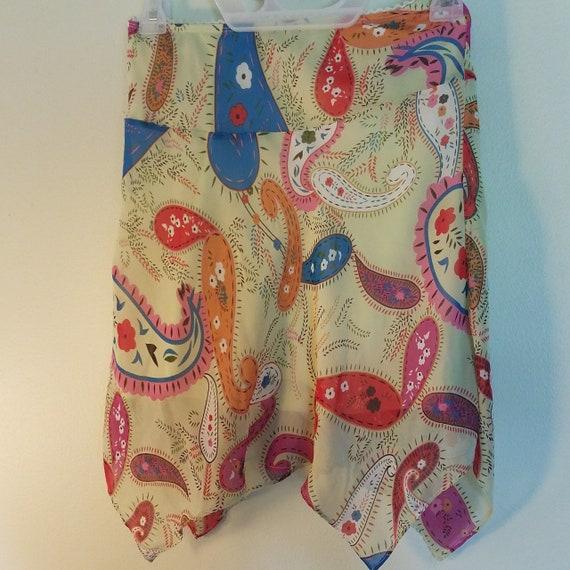 Fairycore Abstract Pattern Skirt - image 4