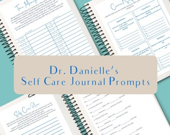 Teen and Adult Self Care Journal Prompts