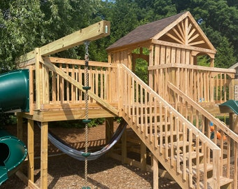 Custom Built treehouses and playsets to fit your family's needs and budget!