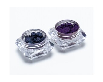 Duo chrome Eyeshadow Color Changing Pigments Kit 2