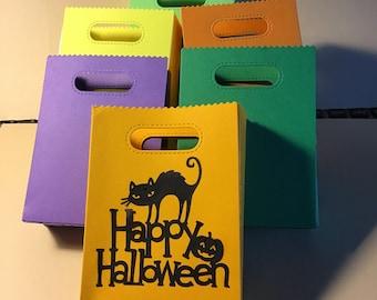 Small Halloween Treat Bags