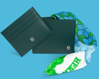 Green Skin Wallet Man | | Salmon Model Knight Wallet