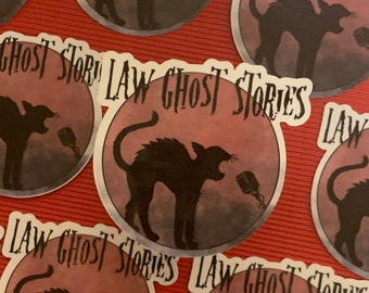 Halloween Law Ghost Stories Podcast Sticker