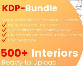 KDP Interior Bundle 500+ Designs