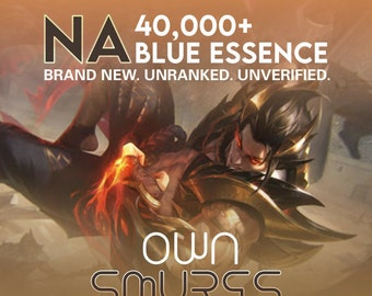 League of Legends Smurf Account | NA Account | LoL ranked | North America | Not verified account | Full Access | Level 30 | lvl 30 smurf |
