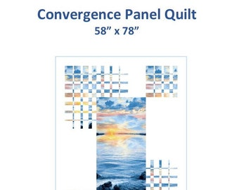 Convergence Panel Quilt Pattern