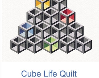 Quilting with Patrice Cube Life Quilt Pattern