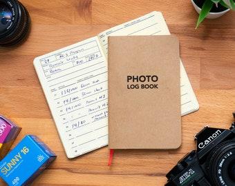Analog Film Photography Log Book / Notebook