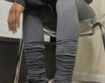 High-Waist Stacked Leggings