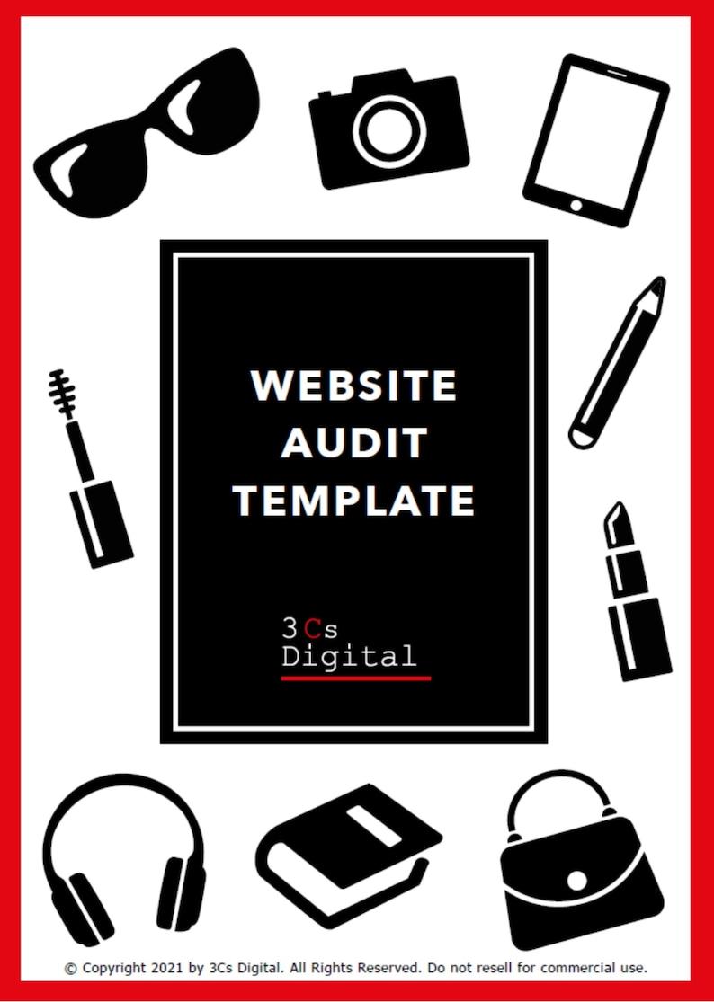Website Audit Template image 1