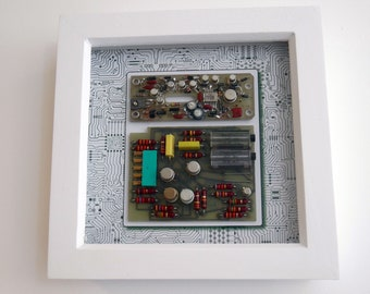 Framed Circuit Board Wall Art - Circartry No: 9