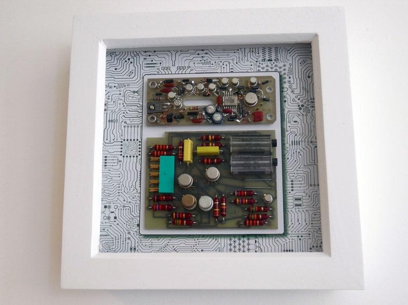 Framed Circuit Board Wall Art  Circartry No: 9 image 1