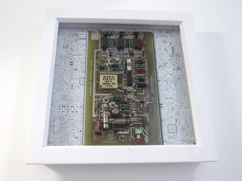 Framed Circuit Board Wall Art  Circartry No: 4 image 1