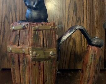 Hand Painted Coffin Mythic Mug