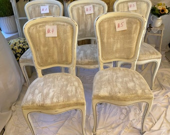 Dining Room Chairs, Shabby Chic,Old, Antique, Wood, Vintage,