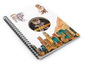 Spiral Notebook - Ruled Line Doge