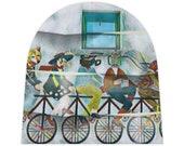 Baby Beanie Doge Shiba inu Bike