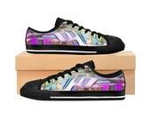 Doge Women's Sneakers Purple color