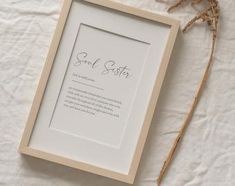 soul sister print