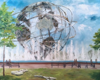 Unisphere, Flushing Meadows Park, Queens