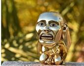 Jones Idol Golden Fertility Statue | Raiders Of The Lost Ark Movie Prop Replica | 80s Film Memorabilia And Collectibles