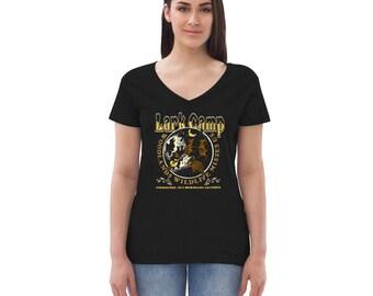 2021 Adult Sizes – Women's V-Neck T-Shirt