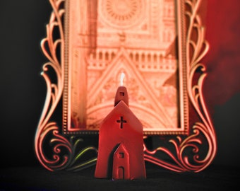 Black Mass Church Candle