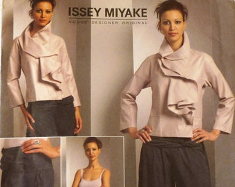 Vogue 1052 Issey Miyake sewing pattern, plus sizes 14-22, uncut, rare and collectible, jacket and pants