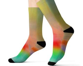 Designer Sublimation Socks