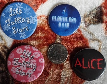 Book Title Buttons