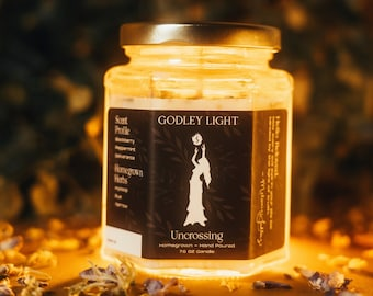 Uncrossing Herbal Infused Intentional Candle