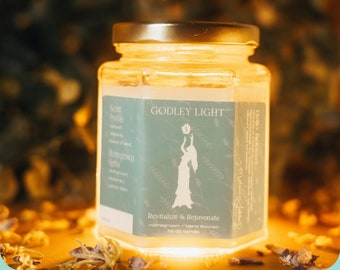 Revitalize and Rejuvinate Intentional Candle