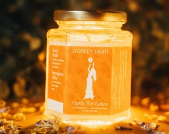 Open the Gates Herbal Intentional Candle