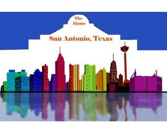 San Antonio City Scape
