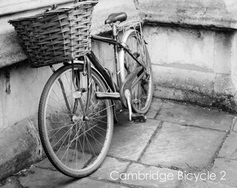 Bike Wall Art and Fine Art Prints- Black and White Bicycle Prints- Cyclist Gift- Unframed or Ready to Hang-Canvas-Art Panel-Framed