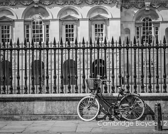 Bicycle Wall Art and Fine Art Prints - Cambridge Bike Prints- Limited edition - Unframed or Ready to Hang-Canvas-Art Panel-Framed